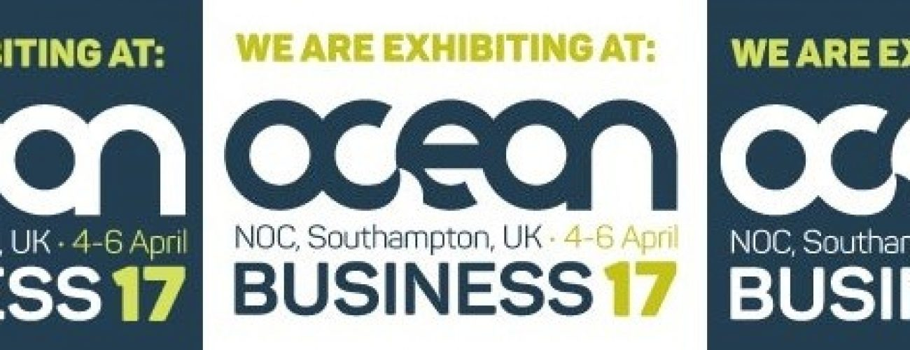 OceanBusiness2017-WeAreExhibitingBlue